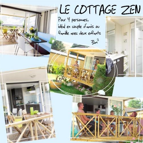 Cottage Mobile Home Chalet Bois Ecologique Environnement Confort
