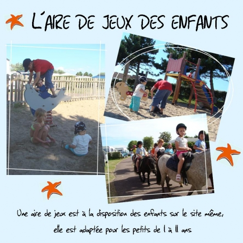 Aire De Jeux Camping Calvados Camping Normandie Camping Proche
